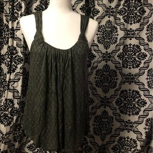 NWOT Anthropologie Knotted Scoop Neck Tank Top